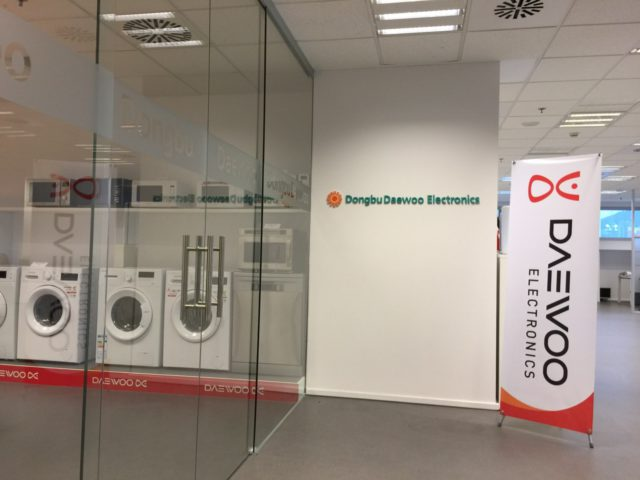 Oficines Daewoo, Barcelona